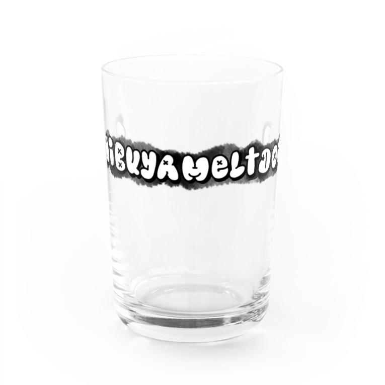 飲酒するOL🍺(〆さば馬刺しちゃん)の#shibuyameltdown/シブヤメルトダウン Water Glass