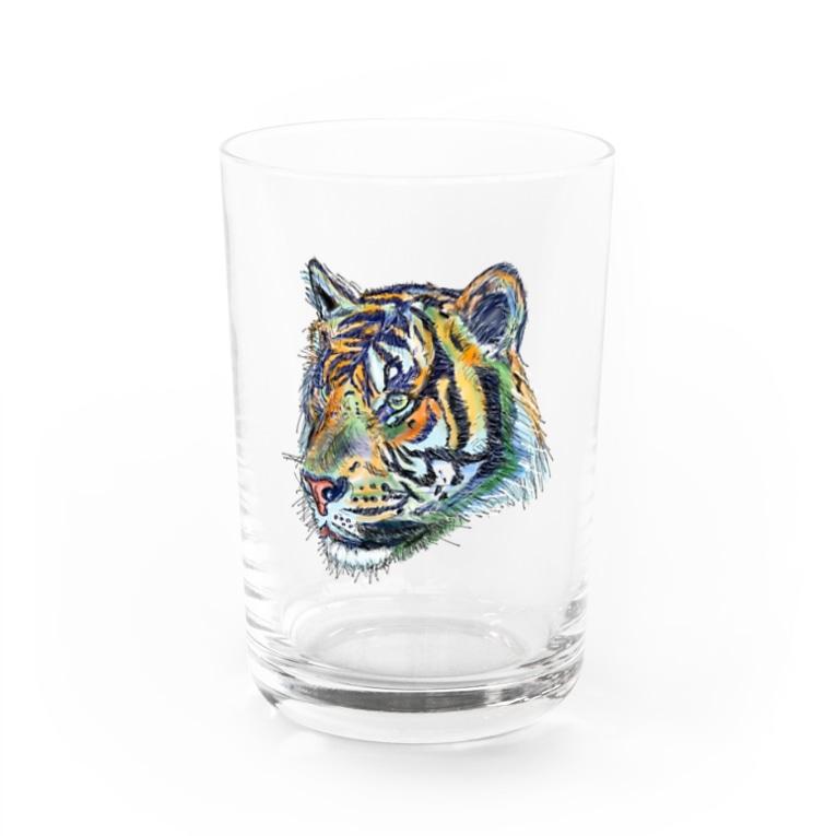 Yasuyuki Yoshiokaのとら Water Glass