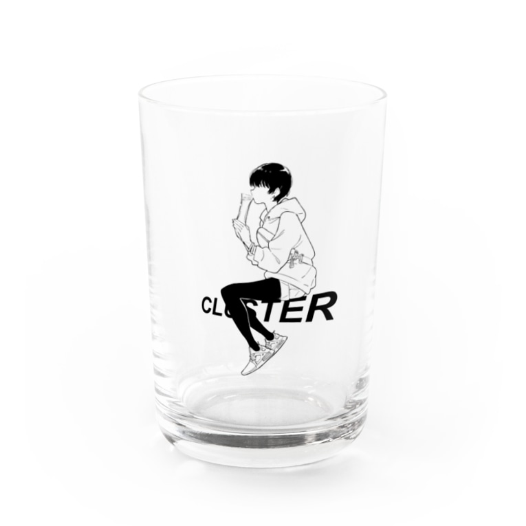 WIR KINDER VOM CLUSTERのCluster × 塀 8th anniversary Water Glass