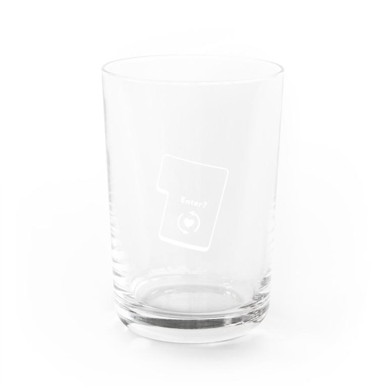 majoccoのエンターキー Water Glass