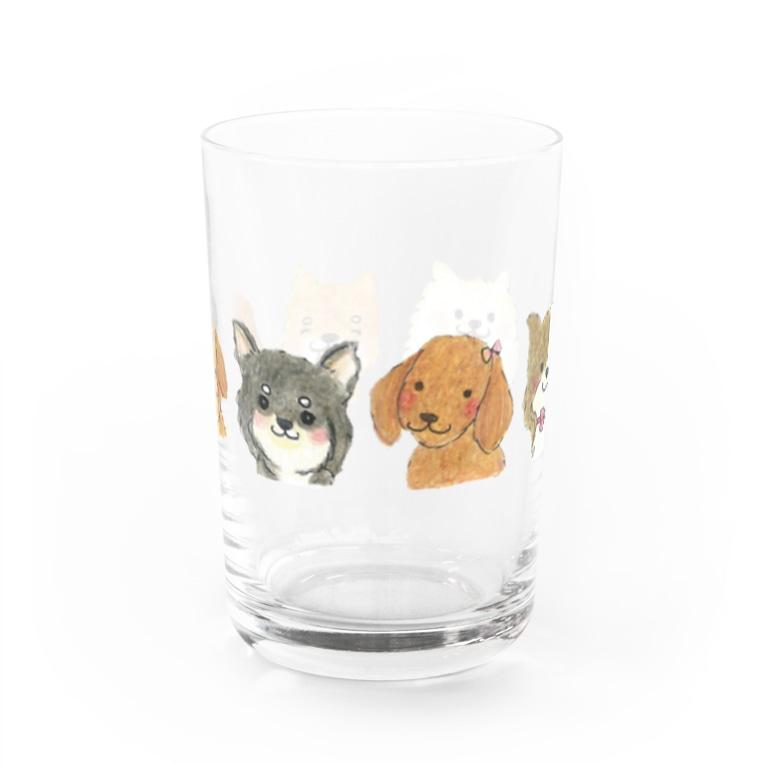 akiのオンリーわん Water Glass