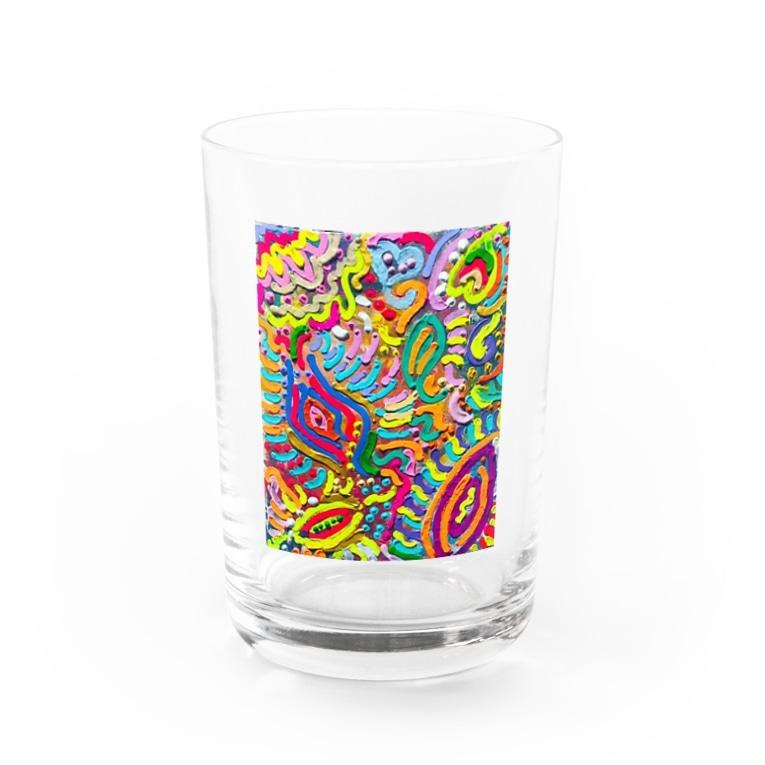 kura_shop🌈の🌷🌸🌺🌻プッシー❤ Water Glass