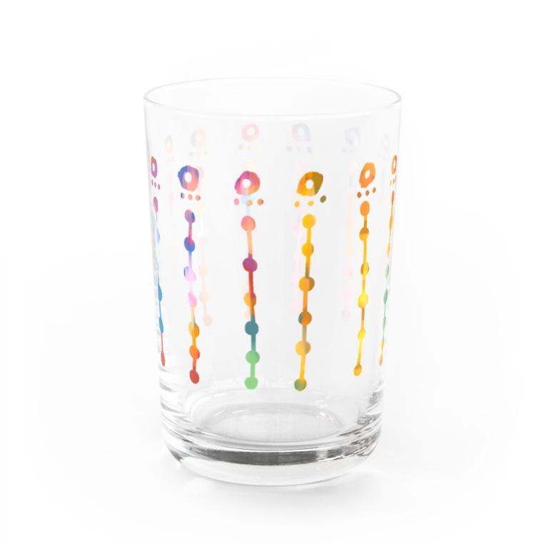 kiyoraの虹色の花 Water Glass