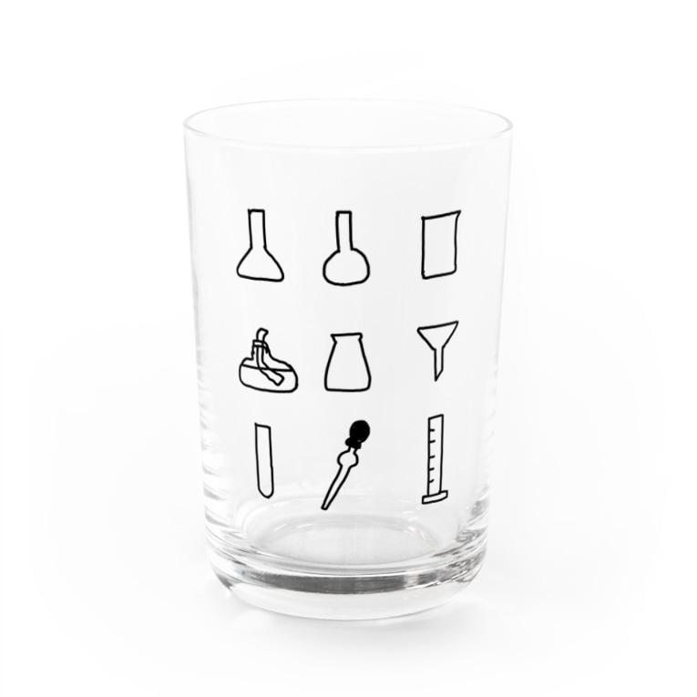 KOH-の実験器具いろいろ Water Glass