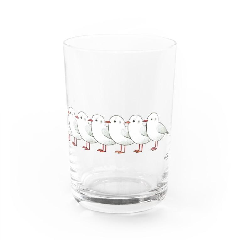 DOTEKKOの-YURIKAMOME No.2- Bird call  Water Glass