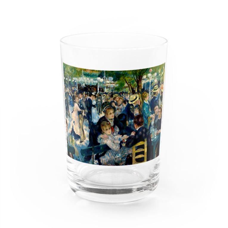 ART のルノワール/ムーラン・ド・ラ・ギャレット Water Glass