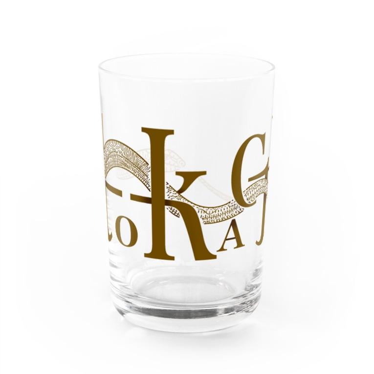 futakineのアシナシトカゲ Water Glass