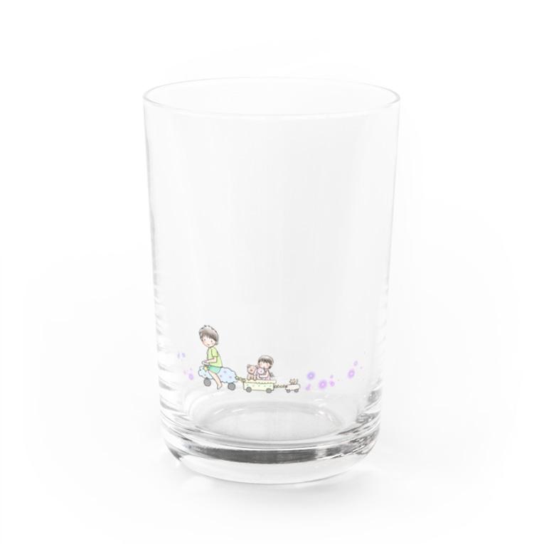 おにゃんこぽんのおみせのおでかけ Water Glass
