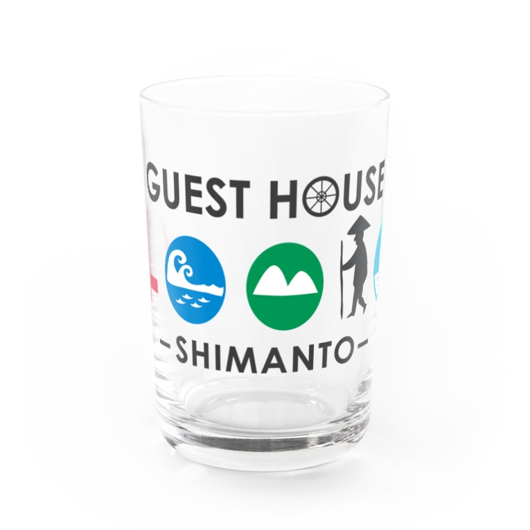 GUEST HOUSE 40010の40010 グラス Water Glass前面