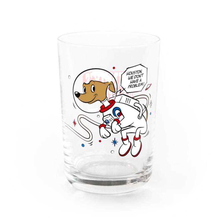 Houndy's supply 【ハウンディーズ】のハウンディーズ アストロノーツ04 Water Glass左面