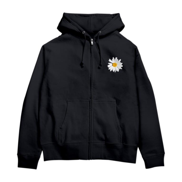 lenhung2108のdaisy flower Zip Hoodies