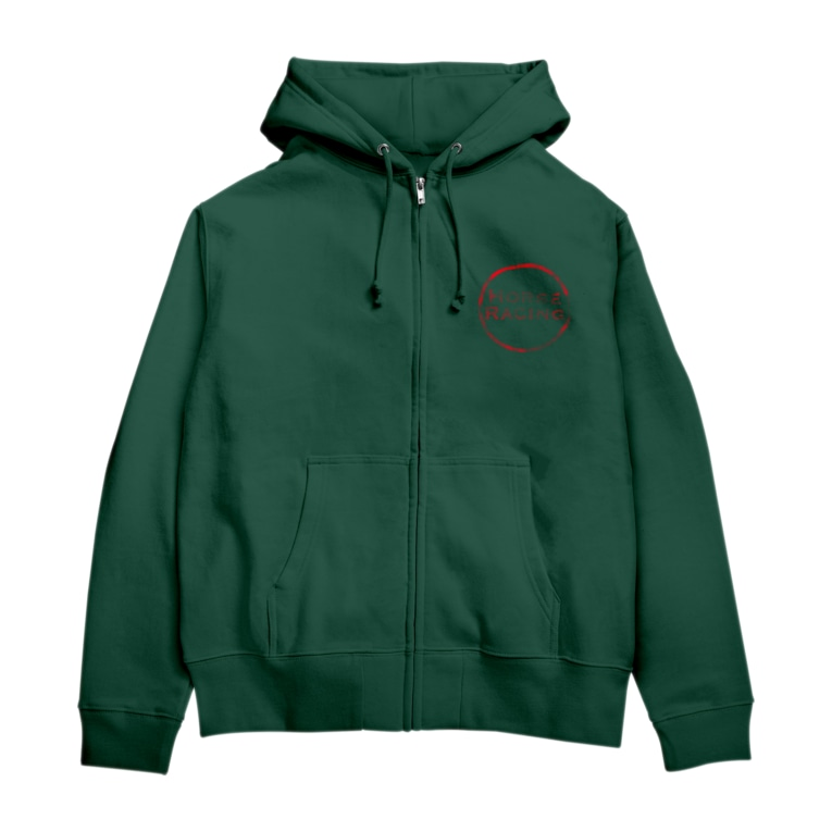 yuriekonoのHORSE RACING Zip Hoodies