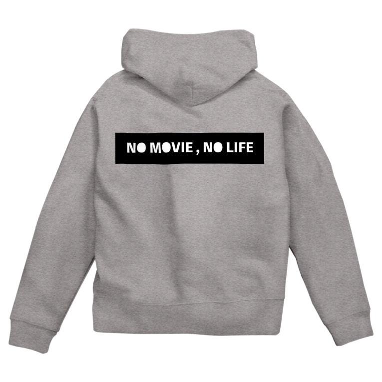 たくみん / 宮田匠のNO MOVIE , NO LIFE Zip Hoodies